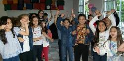 Baile y coreografias en cumple de 10!